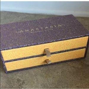 Anastasia glitter eyeshadow palette vault BOX